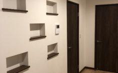 廊下に飾り棚(ニッチ)