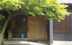 古民家再生:玄関